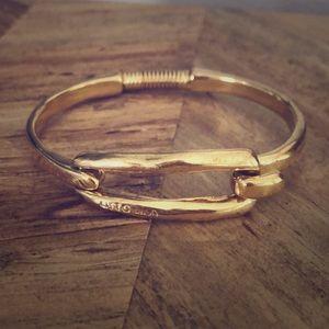Uno de 50 gold MOORED bracelet